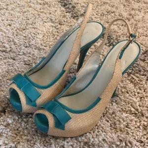 Brand new Nine West peep toe heels